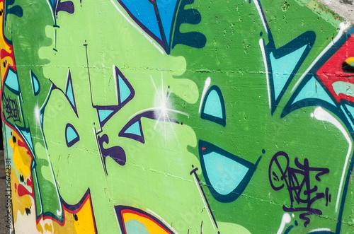 particolare graffito