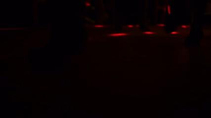 dancing people on the dancefloor