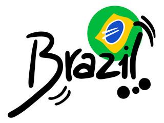 Sticker brazil