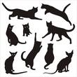 silhouette of cat 3