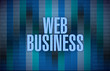binary web business illustration design