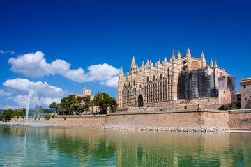 Cathedral La Seu in Palma de Mallorca