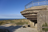 Bunker in the Pointe du Hoc, Cricqueville-en-Bessin, Normandie,
