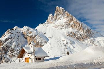 Chiesa Falzarego, Pass de Stria, Italy