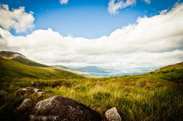 Mountain top in scotland