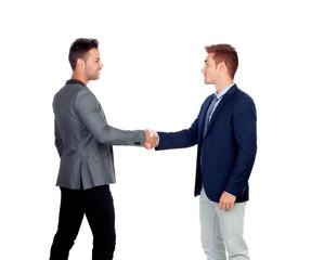 Businessmen Agreeing