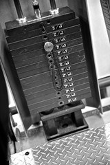 Gym Exercise Equipment - Weight Selector