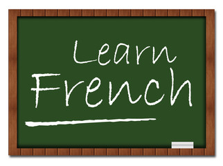 Learn French Classroom Board