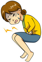 腹痛・女性