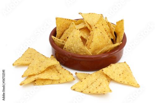 Papiers peints Mexique Corn nachos - Mexico