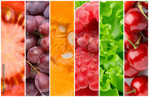 canvas print picture Healthy food backgrounds