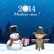 Bonne année. Meilleurs voeux 2014