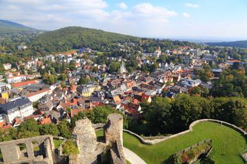 Königstein im Taunus, Blick von der Burg - September 2013