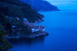 Grigoriou monastery, the blue hour, Mount Athos