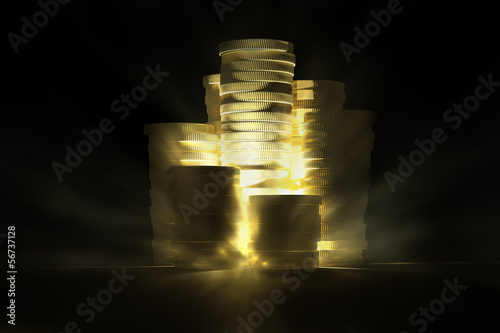 Shining Gold Treasure