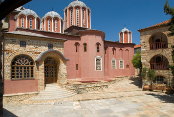 The central church, Pantokrator monastery, Mount Athos