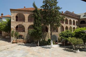 Interior view, Pantokrator monastery, Mount Athos