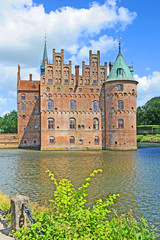 Egeskov Castle on Fyn in Denmark