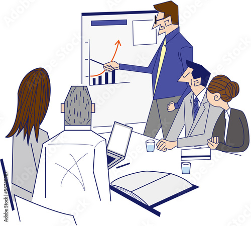 ビジネスシーン 会議