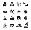 biotechnology icon sets