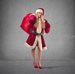pretty Santa Claus