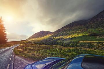 highlands road trip