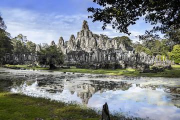 Bayon,Angkor,Cambodia. UNESCO World Heritage Site