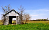 Barn tipping background