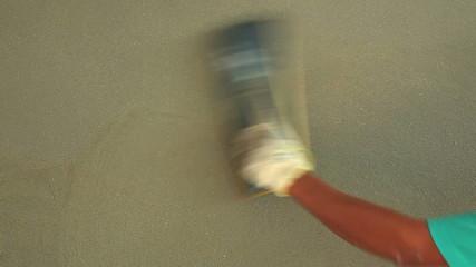 Plastering Worker