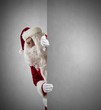 Santa Claus with message