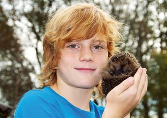 Kleiner Igel gefunden