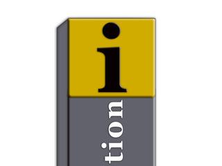 Informationssäule, Symbol