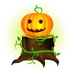 Halloween Smiling Pumpkin