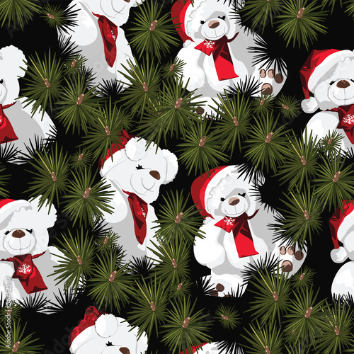 Children's Christmas Wrapping Paper Design