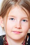 Kind Mädchen Gesicht Portait poster