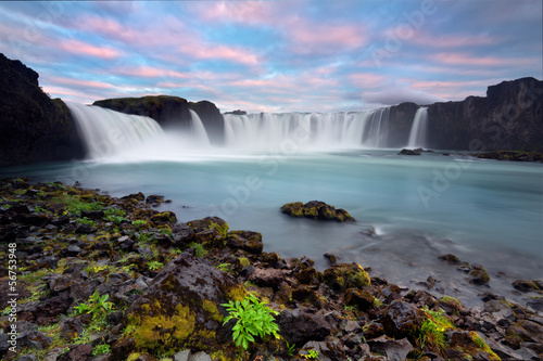 godafoss the waterfall of gods