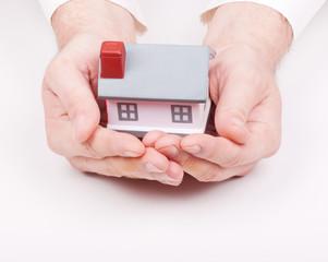 buying, selling or property insurance.metaphor.