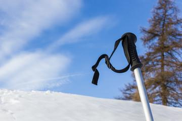 Racchetta da neve in montagna