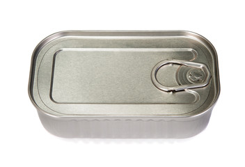 Unopened tin of fish
