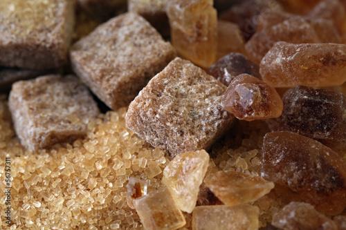 Natural brown sugar.