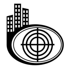 Target black city icon