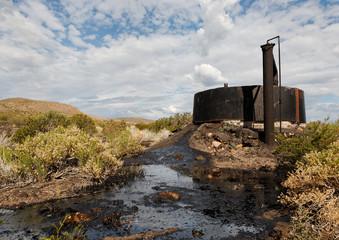 Fuite d'hydrocarbure et pollution