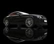 Black Elegant Car On Black Background