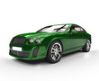 Green Elegant Car