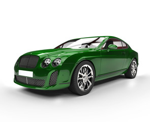 Green Elegant Car