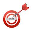 target 10 percentage discount illustration design