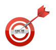 target 50 percentage discount illustration design