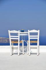 Terraza de Santorini