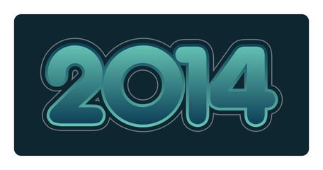 2014, année, vœux, bonne année, saint-sylvestre, an