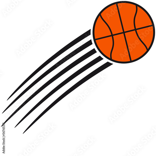 Fast Flying Basketball